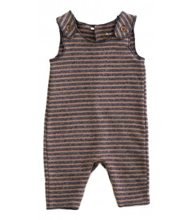 WEE Baby striped jumpsuit