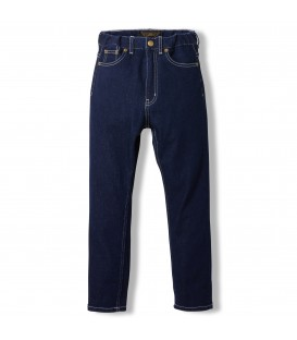 Ollibis raw denim blue jeans