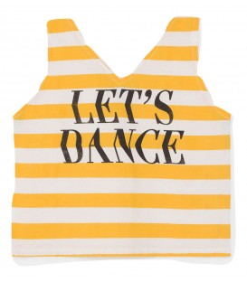 Striped Top Lets Dance