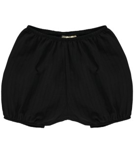 MINI SIBLING Woven bloomers black