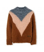 Vanity Oversized Knitted Sweater Walnut