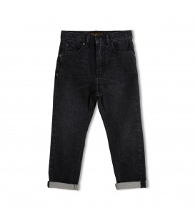 OLLIBIS calças de ganga pretas