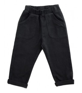 Calças de sarja pretas