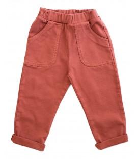 Twill trousers brick