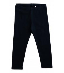 Leggings pretas em algodão orgânico