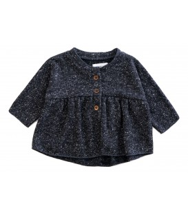 Baby jacket recycled fibers