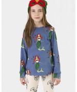T-shirt m/comprida Happy Mermaids