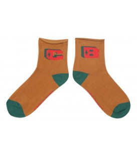 Brown BC Short Socks