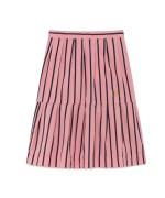 TURKEY KIDS SKIRT Pink Stripes