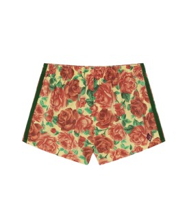 SPIDER KIDS SHORTS Soft Yellow Flowers