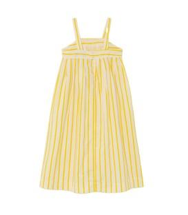 GIRAFFE KIDS DRESS White Stripes