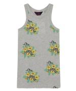 GAZEL KIDS DRESS Grey Flowers