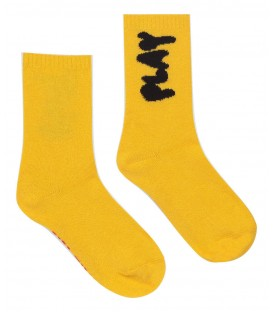 Play Yellow Long Socks
