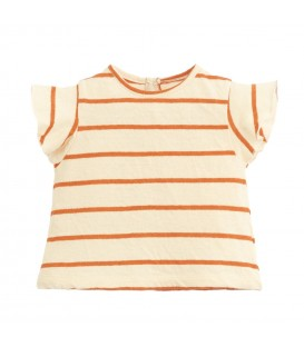Baby Striped T-shirt Anise