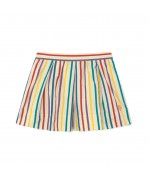 Bird Skirt Colors Stripes