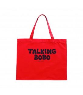 Talking Bobo tote bag