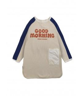 Good Morning fleece dress