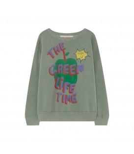 Sweatshirt Big Bear TAO verde clara Maça