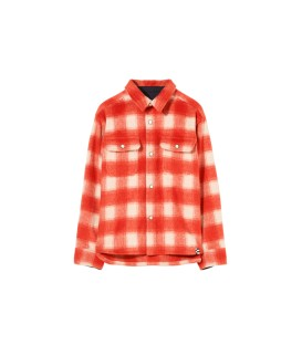 New Dusk Red Checkers Shirt