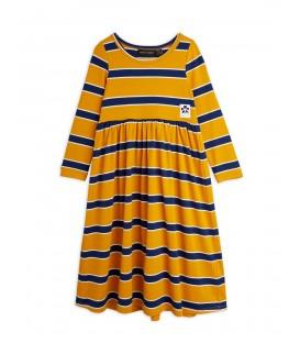 Stripes l/sleeve Dress