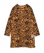 Basic Leopard l/sleeve Dress