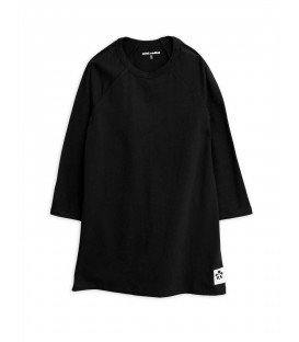 Basic l/sleeve Dress Black