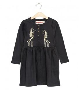 Dress Giraffe black