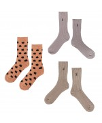 ICONIC BC Long Socks pack yellow