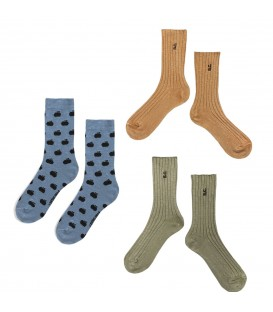 ICONIC BC Long Socks pack 2
