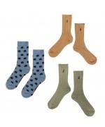 ICONIC BC Long Socks pack blue