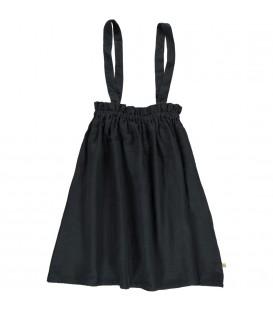 Granada Straps Skirt antracite