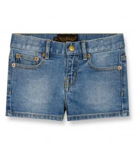Nova blue denim shorts