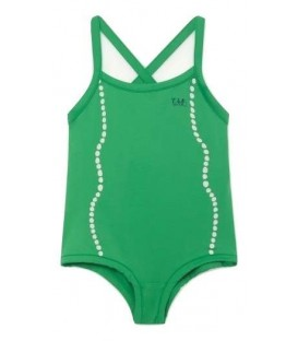 Trout - Swimsuit electric green Shells