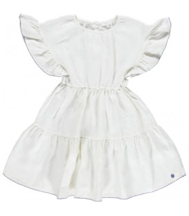 Funchal dress white