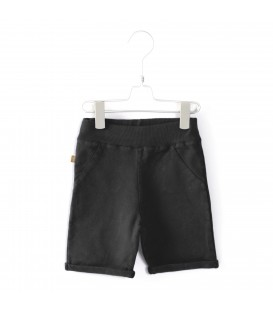 Bermuda shorts washed black