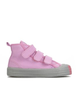 STAR DRIBBLE VELCRO PINK/GREY