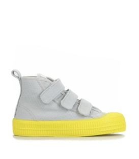 STAR DRIBBLE VELCRO YELLOW/GREY