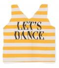 Top às riscas Lets Dance