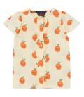 Parakeet - Shirt with frills Oranges