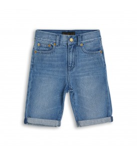 Edmond medium blue shorts