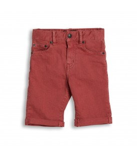 Edmond faded red shorts