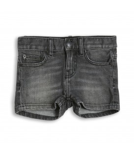 Nova grey denim shorts