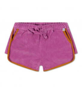 Sporty shorts purple violet