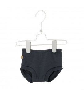 Baby culotte washed black
