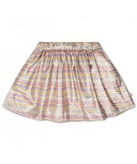 Short skirt zigzag sparkle rainbow